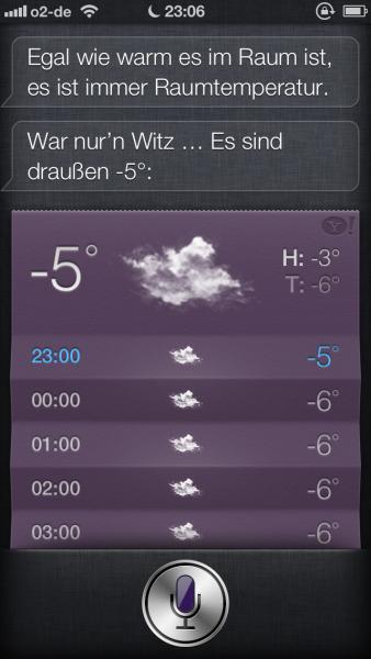 Raumtemperatur?