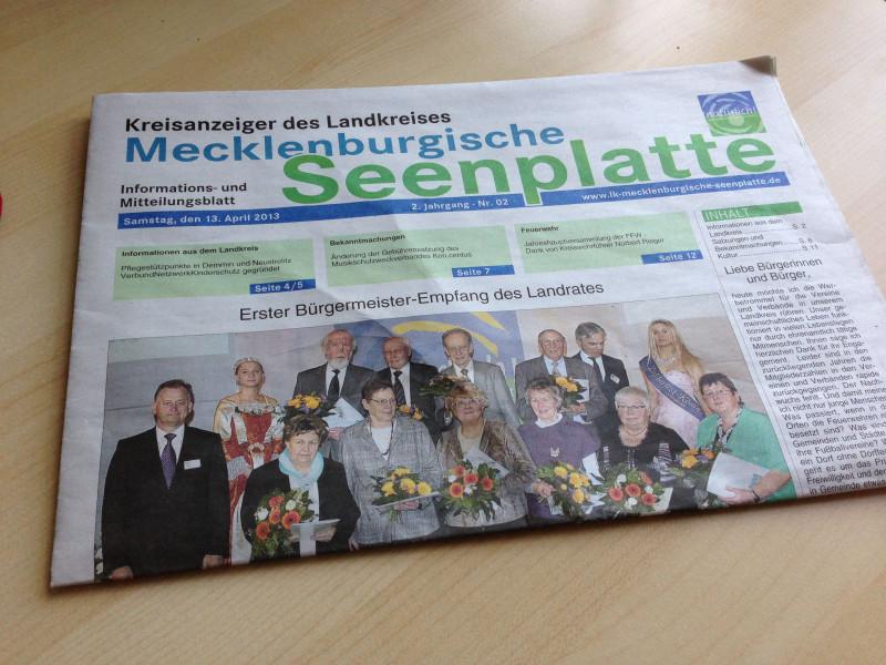 Der Kreisanzeiger in der neusten Ausgabe