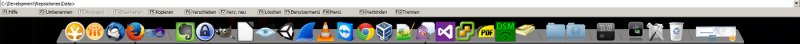 RocketDock in Aktion