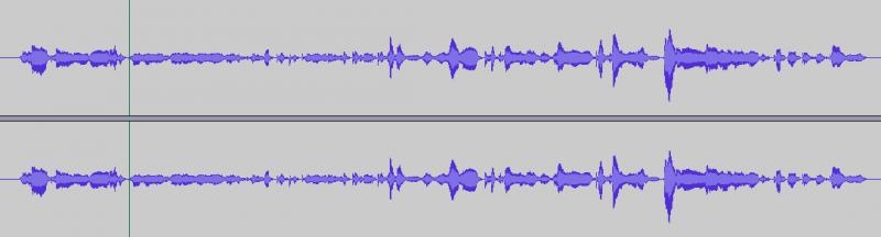 Eine geöffnete Wave-Datei