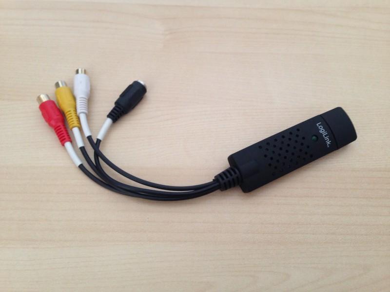 Ein LogiLink VG0001 (intern ein EasyCap DC60)