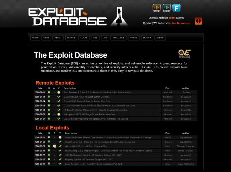 exploit-db.com