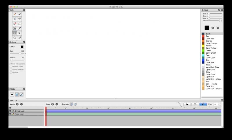 Pencil unter Mac OS X
