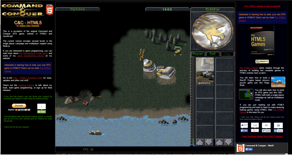Command & Conquer im Browser