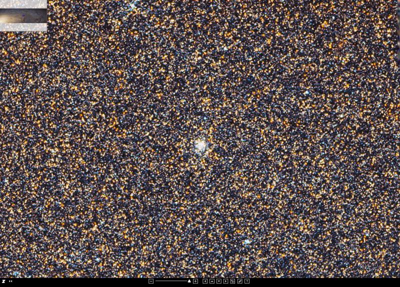 Ein Teil der Andromeda Galaxie