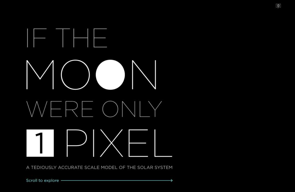 Das pixelgenaue Sonnensystem