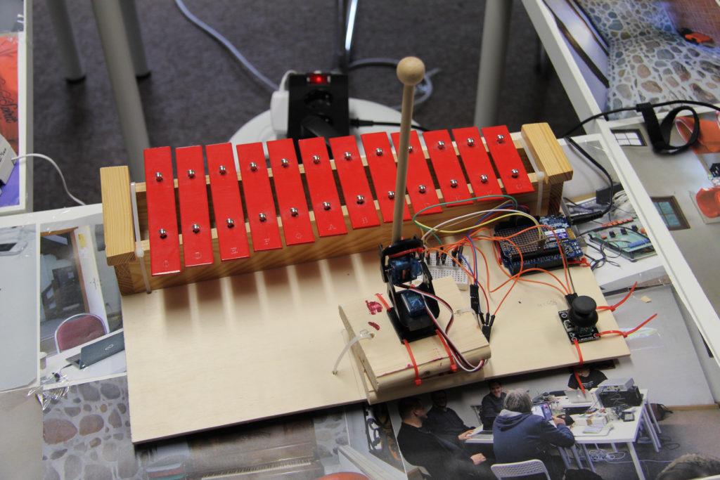 Das automatische Xylophon