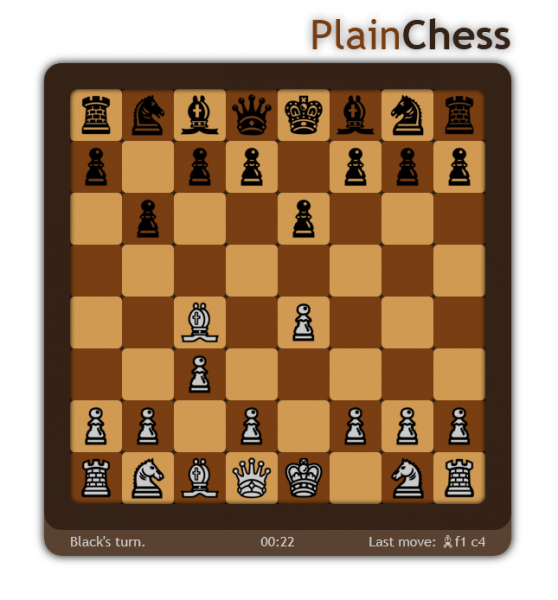 PlainChess im Offline-Modus