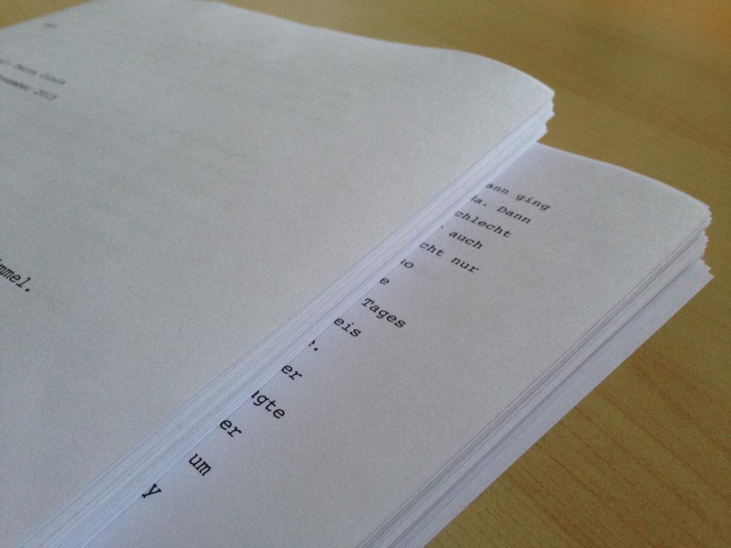 In Papier sehen 51.032 Wörter schon recht eindrucksvoll aus