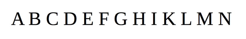 Mit Unicode können nicht nur lateinische Buchstaben abgebildet werden