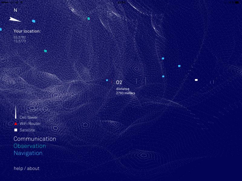 """Die Visualisierung der """"Infosphäre"""""""