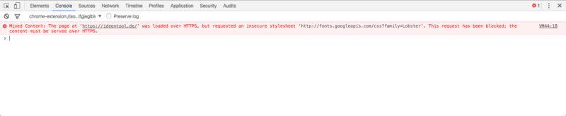 Die Entwicklertools von Chrome