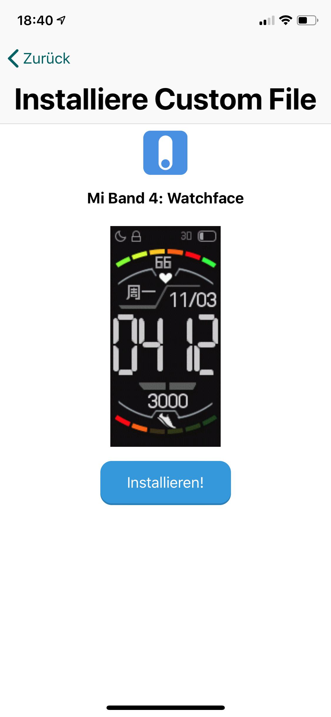 Watchface auf dem Mi Band 4 mittels iOS wechseln › seeseekey net